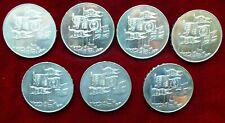 More details for 7 x 1996 uk royal mint hm queen elizabeth ii 70th birthday £5 crown coins