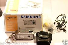 Samsung 401 4.0 MP Fotocamera Digitale-Argento