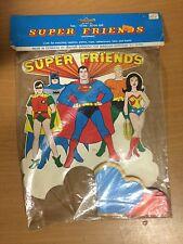 "SUPER FRIENDS 12"" CENTERPIECE MIP 1976"
