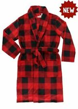 Lazy One Red Plaid Men's Robe, Choice of Sizes
