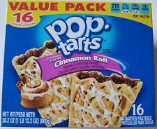 NEW Pop Tarts Toaster Pastries Frosted Cinnamon Roll 16 Count FREE SHIPPING