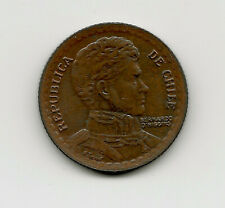 World Coins - Chile 1 Peso 1953 Coin KM# 179 ; Lot-C2