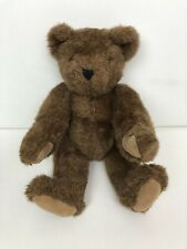 """Vermont Teddy Bear Company Classic Jointed Brown Teddy Vintage 1992 17"""""""