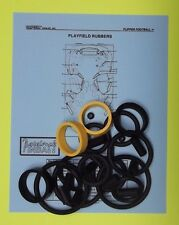 1996 Capcom Flipper Football pinball rubber ring kit