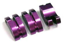YR - HPI Savage - RC 1/8 Scale Nitro Engine - 3 Purple Alloy Clutch Shoes