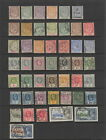 Mauritius 1910 - 1935 collection, 47 stamps , MH or used