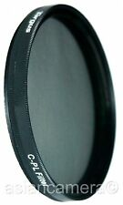 55mm CPL PL-CIR Filter For Sony A230 A300 18-70mm Lens Circular polarizer