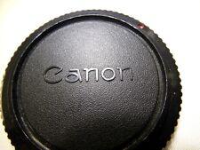 Canon Body Cap Dust Cover FD FTb FT F1 cameras (Red Dot)