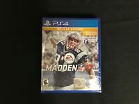 New Madden NFL 17 - Deluxe Edition - PlayStation 4 PS4 Brand New Factory Sealed