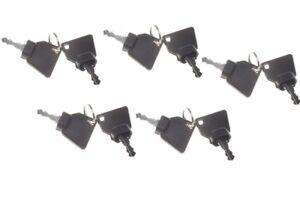 10pcs Ignition Keys 701-45501 For JCB Parts 3CX Excavator