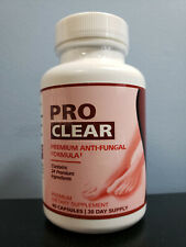 Pro Clear Premium Nails Anti-Fungal Formula 60 Capsules - New Sealed! Exp 7/2022
