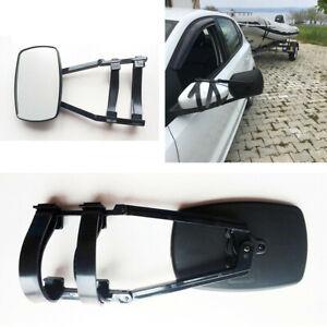 1x Adjustable Clip-on Side Mirror Extender Truck Suv Vav RV Trailer Accessories