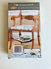 Pet Store Cat Hanging Under Chair Hammock Bed Space Saver New in Box Free Ship