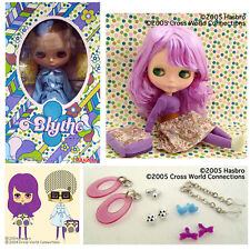 * WOW! INSPIRED BY PINAFORE PURPLE BLYTHE SBL-10 DOLL * NRFB * US SELLER *
