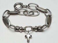 21,5 cm langes, massiv gearbeitetes 925 Silber Armband von ESPRIT 28,95 Gramm