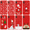 Soft Silicone Christmas Phone Case Cover For Apple iPhone XS Max XR X Plus 8 7 6