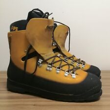 Asolo AFS Guida Plastic Mountaineering Boots - Yellow, Men's UK11, US11.5, EU46