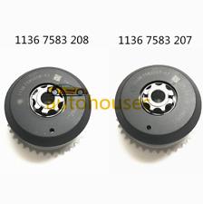 Set of 2 Exhaust+Intake Camshaft Adjuster Fit BMW F20 F30 E90 F10 F01 X1 X3 X4