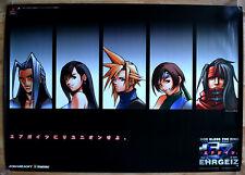 Ehrgeiz: God Bless The Ring (Final Fantasy) RARE PS1 51.5cm x73 Jap Promo Poster