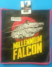 Star Wars Millenium Falcon Tote Bag • NEW! • Pink Black • School or Shopping!
