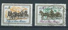 San Marino Briefmarken 1969 Kutschen Mi.Nr.929+30