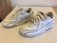 Nike Air Max Scarpe Da Ginnastica Bianca Misura UK 2 EUR 34 (***)