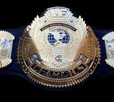 WWF Hybrid Championship 4MM Winged Eagle And Big Eagle Attitude Era Zinc Belt