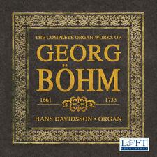Complete Organ Works of Georg Bohm [New CD] 3 Pack
