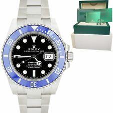 Marca Nueva 2021 Rolex Submariner Fecha Azul 41mm 18K Reloj De Oro Blanco 126619 B + P