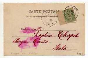 A4492) FRANCE 1901 PC Chambery - Borgaro Torinese