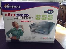 Memorex Ultra Speed CD Recorder 52x CD-R 32x CD-RW 52x CD-ROM