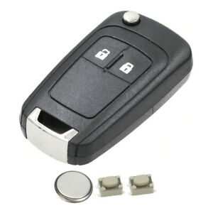 2 Button Remote Key Fob Case Cover Repair Kit for VAUXHALL CORSA ASTRA INSIGNIA