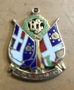 "1938-1961 DOMINICAN REPUBLIC 14kt GOLD MEDAL ""ORDEN DEL GENERALISIMO"" !"