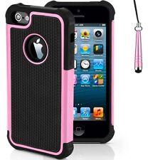 Housses et coques anti-chocs roses en silicone, caoutchouc, gel pour téléphone mobile et assistant personnel (PDA)