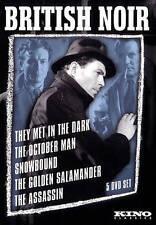 BRITISH NOIR: Five Film Collection, DVD, Brand new, still in shrink wrap.