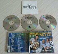 BOX 3 CD MAXI MUSETTE 60 TITRES 2000 COMPILATION ACCORDEON