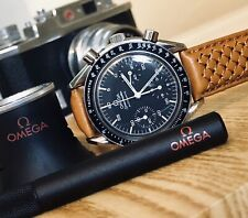 Omega Speedmaster Steel Black Dial Men's reduced 38mm Automatic watch  + New Box