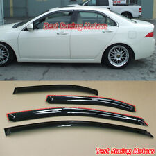 JDM Style Side Window Visors Fits 04-08 Acura TSX 4dr