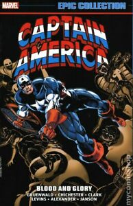 Captain America Blood and Glory TPB Epic Collection #1-1ST VF 2020 Stock Image