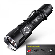New KLARUS XT11GT 2000LM  CREE XHP35 HD E4  LED Programmable Tactical Flashlight