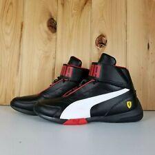 PUMA Scuderia Ferrari Kart Size 9 Cat Mid III Hi Top Shoes Men Mid Boot Auto