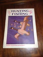 Hunting and Fishing  dec.1932 Magazine