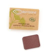 Recharge Fard à Paupières n°53 Brun Rouge nacrée  Bio - 1,3 g - Couleur Caramel