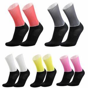 Cycling Socks Anti Slip Seamless Bike Ankle Sock Running Sport Compression Kit