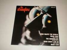 "THE STRANGLERS - WHO WANTS THE WORLD/BEAR CAGE - 12"" JAPAN 1980 UAS GXA 7 45 RPM"