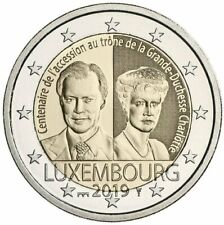 Luxembourg / Luxemburg - 2 Euro Accession to throne of Grand Duchess Charlotte