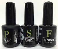 JESSICA GELERATION Soak-off Gel Polish - PREP +START +FINISH  0.5oz