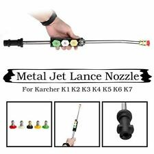 Karcher K1-K7 Car Pressure Washers Metal Jet Lance Nozzle 5 Quick Nozzle Tips