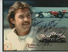 Indianapolis 500 & NASCAR Driver TIM RICHMOND Signed Indy Auto Race 8 X 10 Photo