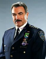 Tom Selleck in uniform fully decorated in TV Series Blue Blood PUBLICITY PHOTO